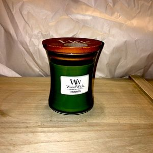 🎄 WoodWick Evergreen Candle 🕯